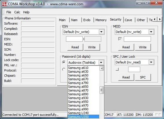 How to clone phone with cdma workshop