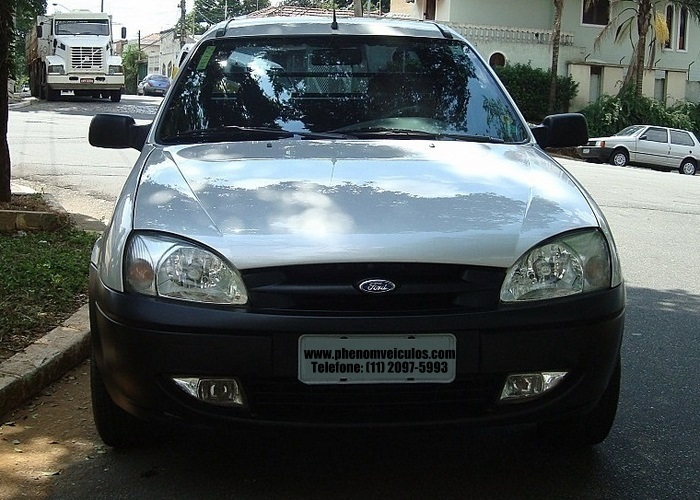 Ford Courier 2008 1.6 Flex