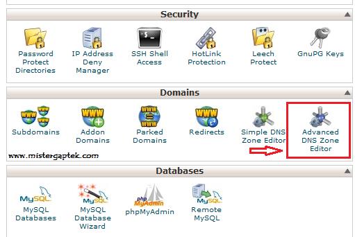 Setting Custom Domain .ID untuk Blogspot dari IDWebhost via CPanel