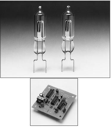 prinsip kerja Modul Sensor Hamamatsu UVTRON R2868