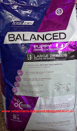 Vital Can Balanced Puppy Large Breed 20 kg. $ 413 + Gtos. de envío