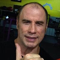 John Travolta Bald Actor