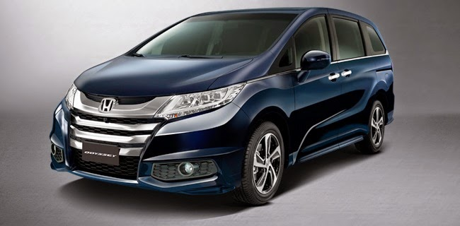All New 2015 Honda Odyssey
