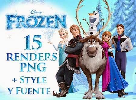 renders, png, frozen, styles