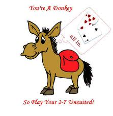 Apakah anda seorang poker donkey?