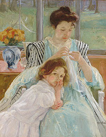 Mary Cassatt | female artists | Discover great women artists at http://schulmanart.blogspot.com/2011/06/ten-women-artists-every-young-girl.html
