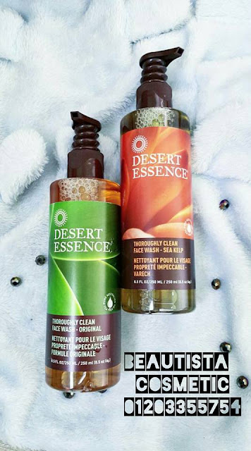 Sữa Rửa Mặt Cho Da Dầu Desert Essence Thoroughlt Clean