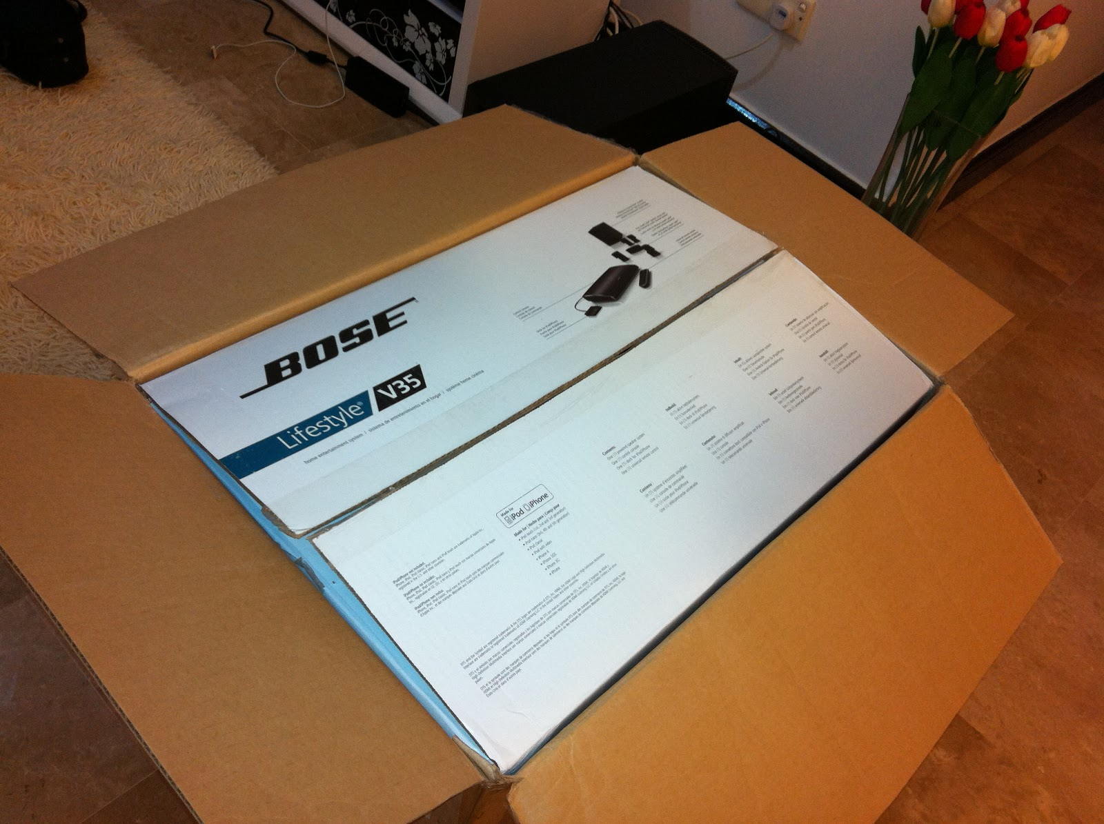 www.dorahifi.com: WTS: BNIB New Bose V35 Home Theatre on Sale