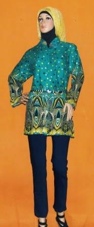 Baju Motif Batik Jumbo BK0427