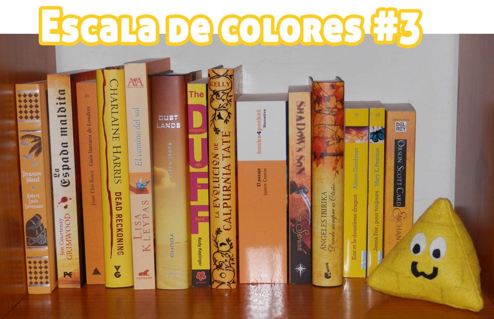Book eater: Escala de colores #3: Amarillo