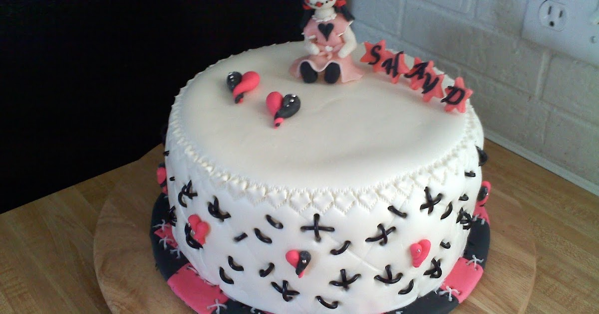 Cake Images With Name Pinky : Pinky Promise Cakes: Emo cake for shayd