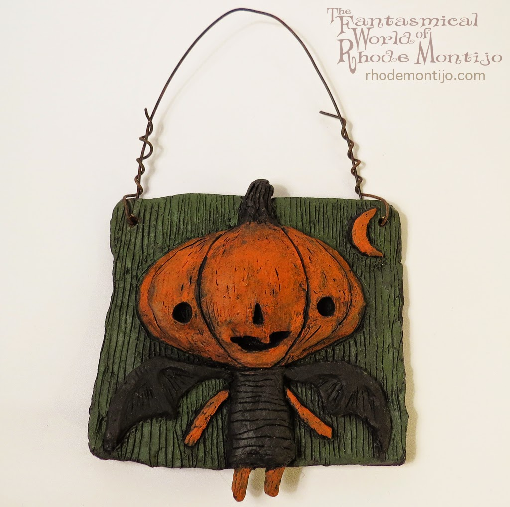 Halloween Folk Art by Rhode Montijo