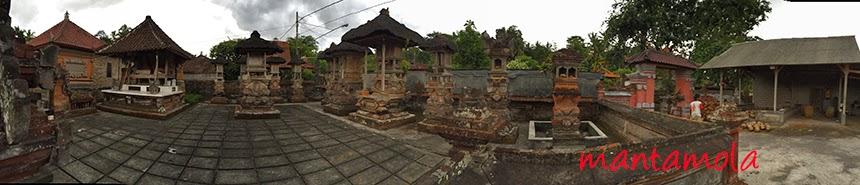 Grand temple, Petulu, Bali