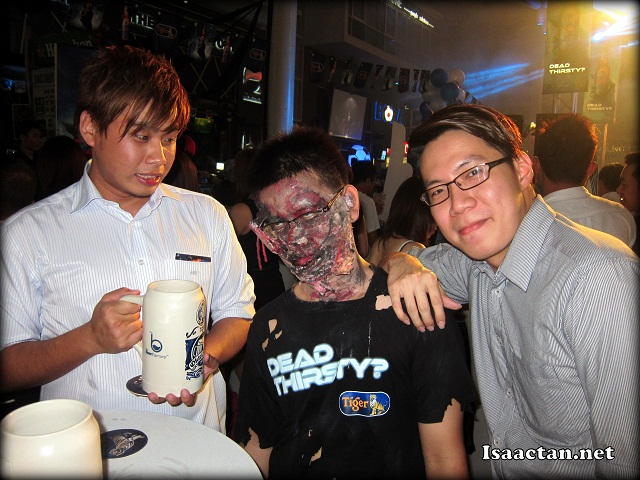 Zombies among the living, check out my fellow blogger friends Benjamin and Joshua