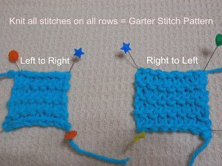 Difference Between Knit Stitch And Purl : DIFFERENCE BETWEEN KNITTING AND PURLING Free Knitting Projects