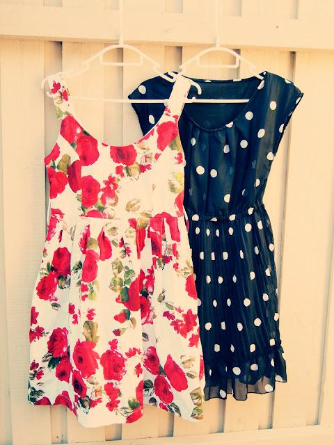vintage floral dress markets