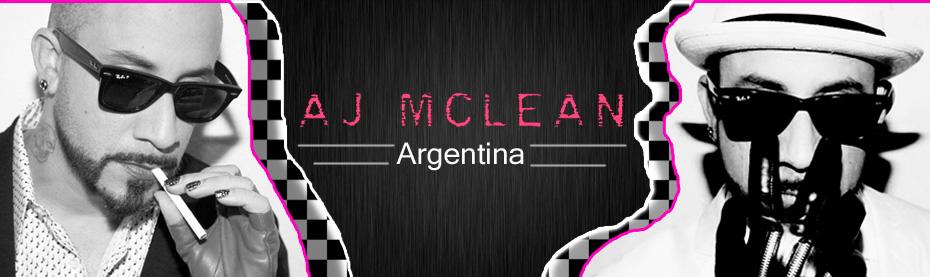 AJ McLean Argentina