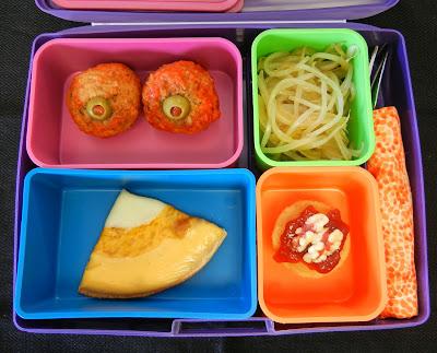 Halloween+Bento+Box Weight Loss Recipes Halloween Bento Box Lunch