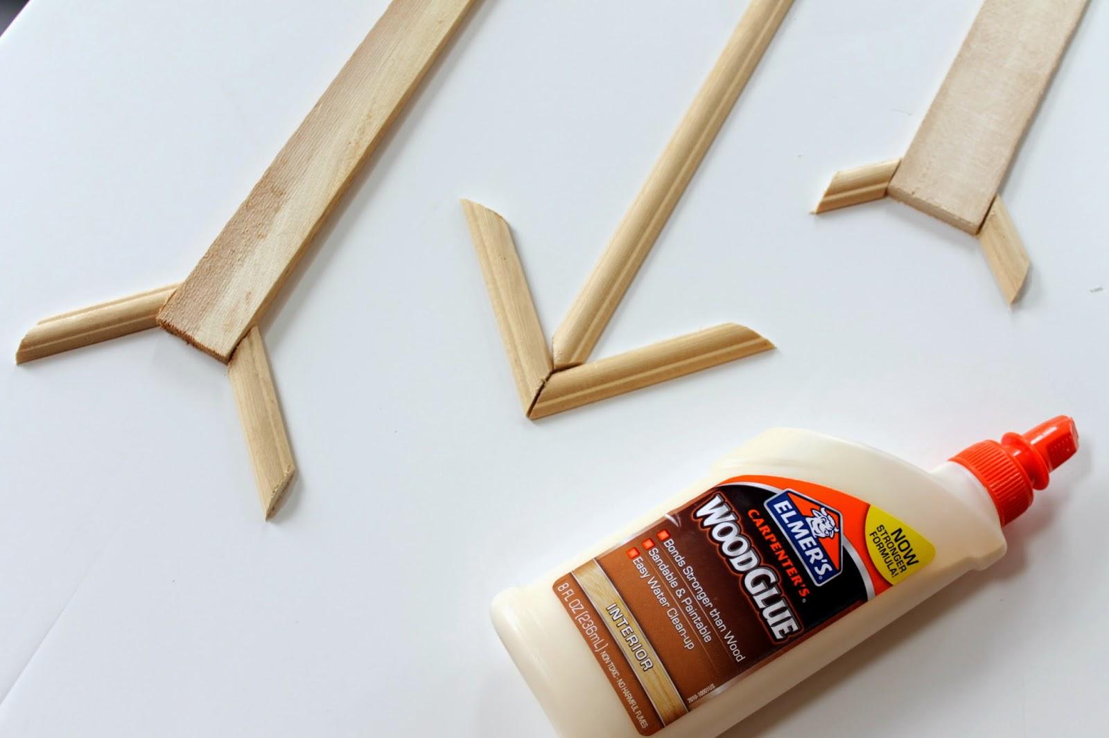 wooden arrows DIY