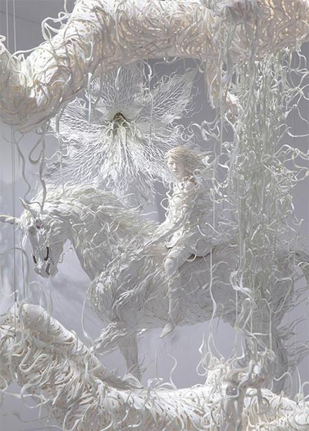 Las esculturas de Motohiko Odani