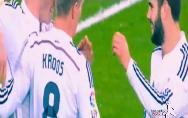 5 - 1 Madrid VS Rayo, Gol di Cetak oleh Lima Pemain Berbeda
