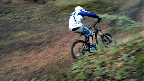 Downhill z Palenicy, trasy zjazdowe rowerowe