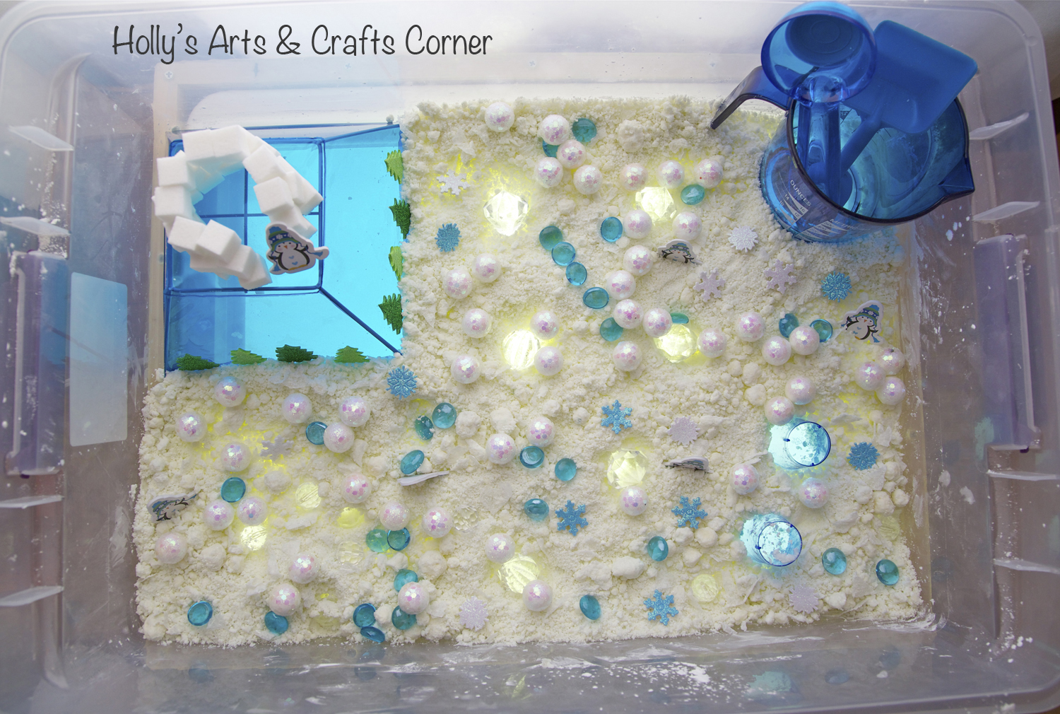 Holly's Arts and Crafts Corner: Toddler Sensory Activtiy: Winter ...