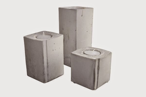 Fyrfadsstage i beton_concrete_shop online hos Bæk & Kvist_House of Bæk & Kvist