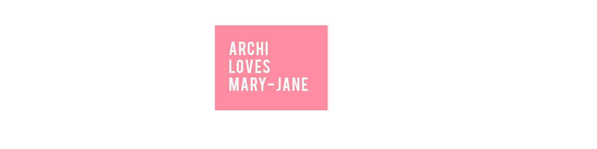 archi loves mary-jane