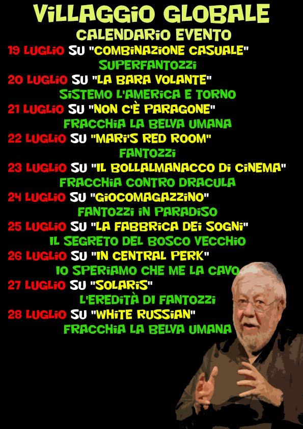 Villaggio Globale - 19/07/2017 - 28/07/2017
