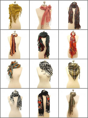 Fashion Tips - How to Tie a Scarf ?