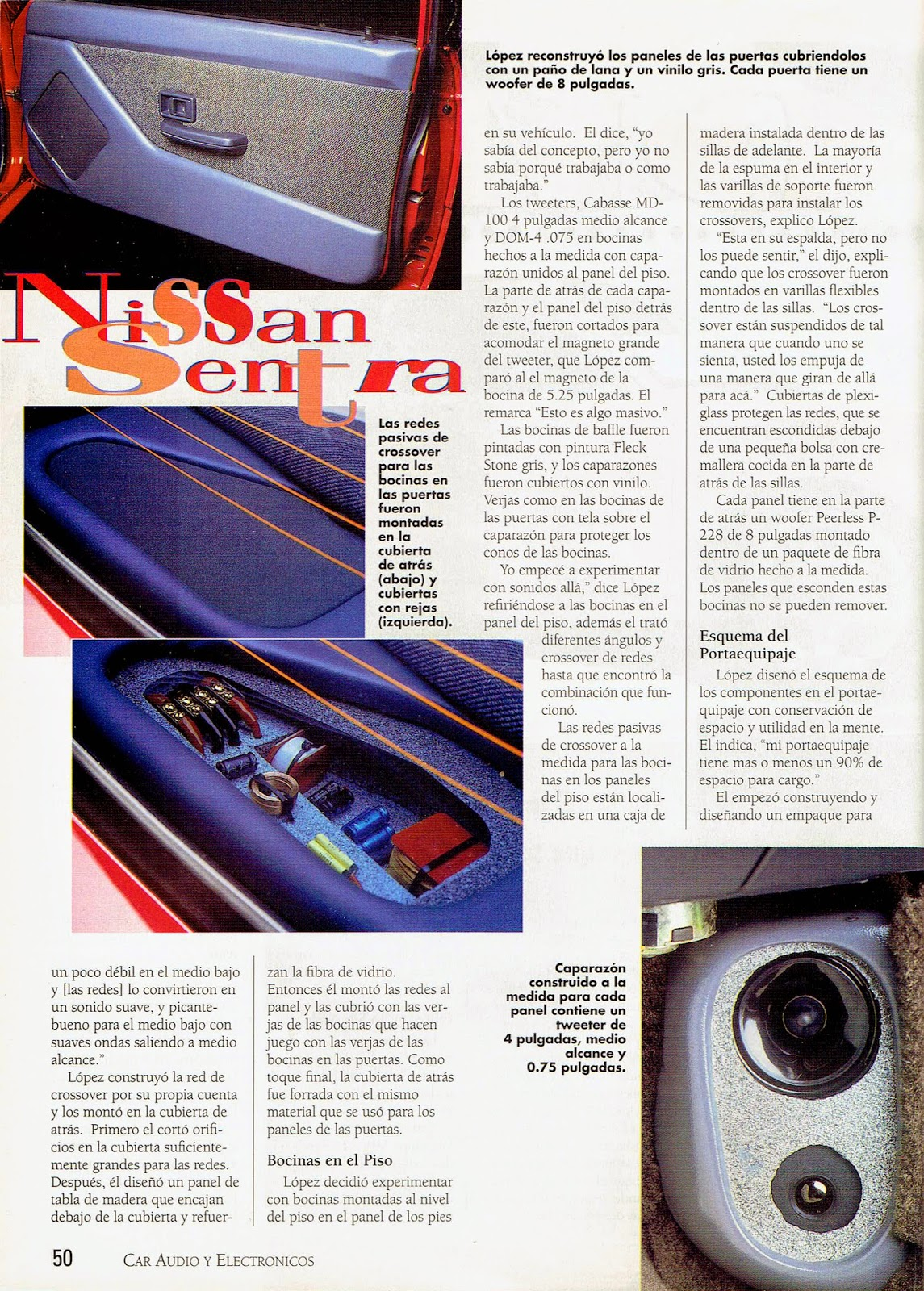 Image of Bajale al Boom Article - page 50 - Car Audio & Electronics Magazine Special Edition in Spanish