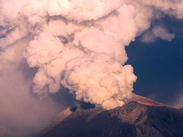 Volcán Popocatépetl 20 de Julio 2012