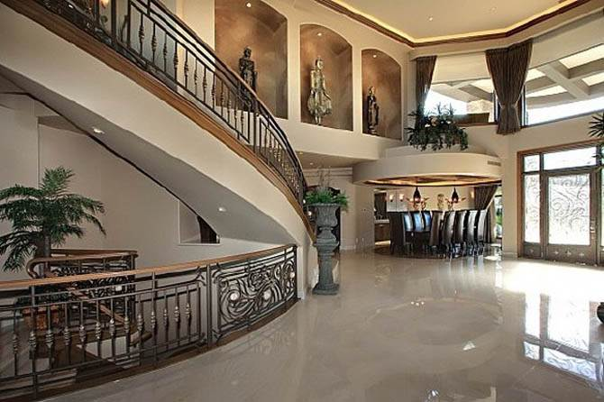 Large House Interior Idea Nicolas Cages Former House