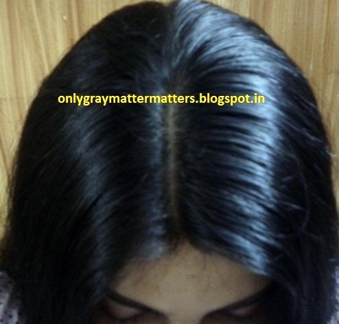Henna indigo hair color