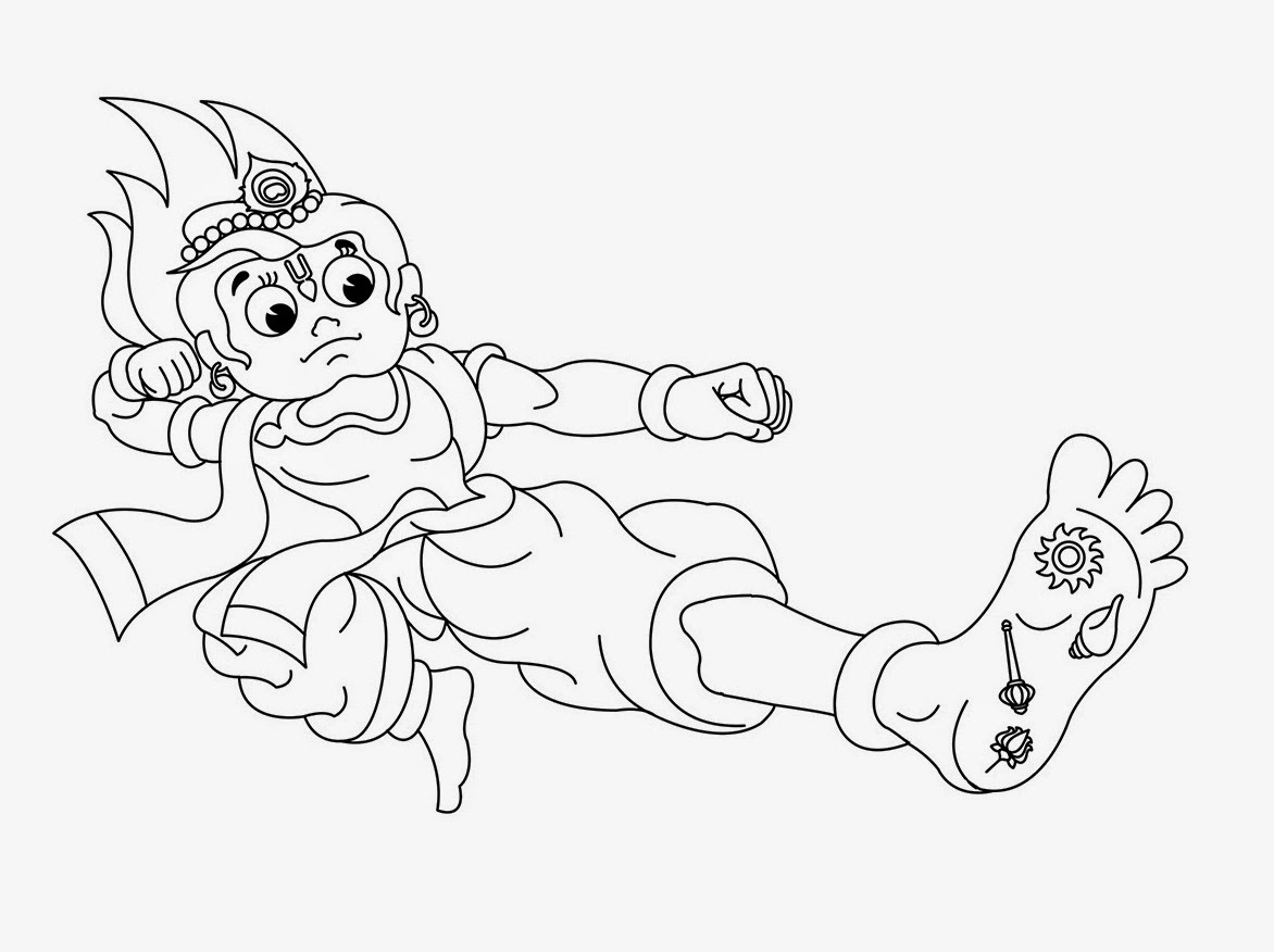 little krishna for kid coloring drawing free wallpaper | anggela ... - Baby Krishna Images Coloring Pages
