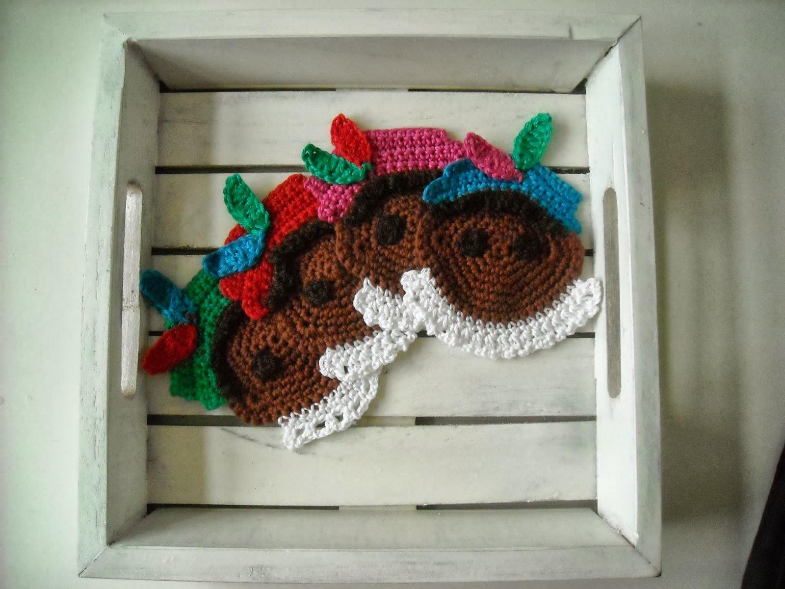 Gratis Patronentinekeshaakpatronen Onderzetters Zwarte Piet