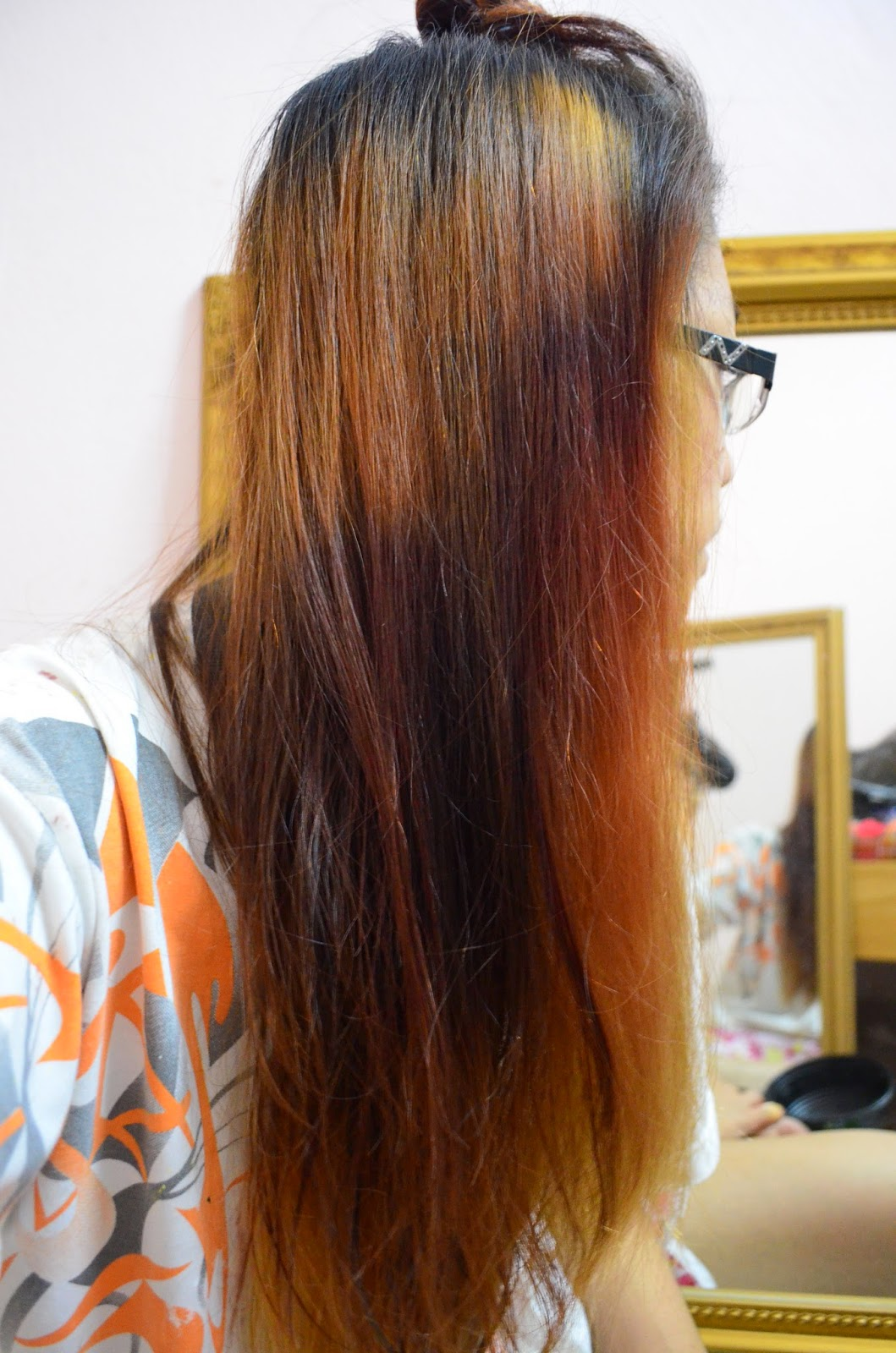 how to fix uneven hair color after bleaching