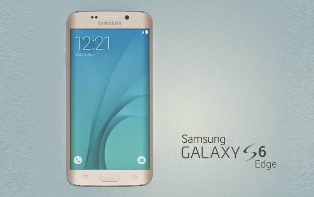 Galaxy S6 Edge Mockup PSD