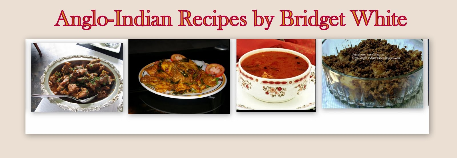 Cooking classes in bangalore by bridget white kumar for Anglo indian cuisine
