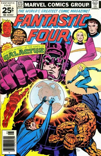 Fantastic Four #173, Galactus