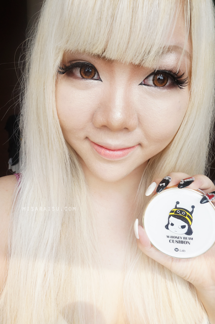 w.lab cushion makeup korean review