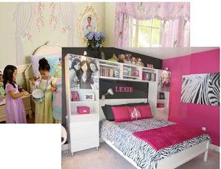 Merubah kamar anak yang beranjak dewasa