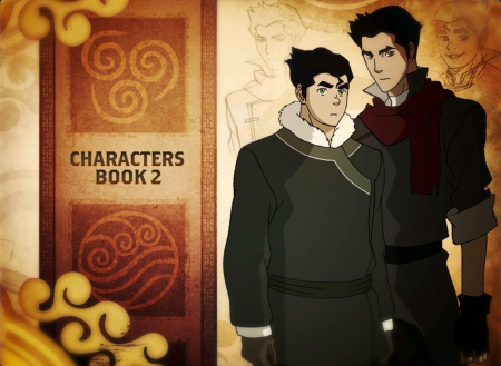 Characters in the Legend of Korra - Mako and Bolin