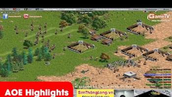 AOE Hifghlights, Nghệ thuật cầm cung A cân map Gigantic của BiBi