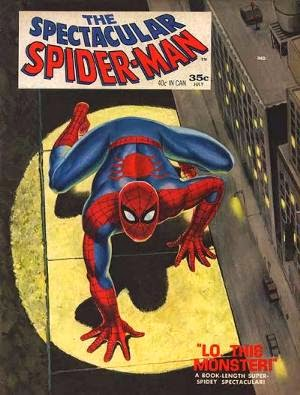 The Spectacular Spider-Man Magazine #1 cover