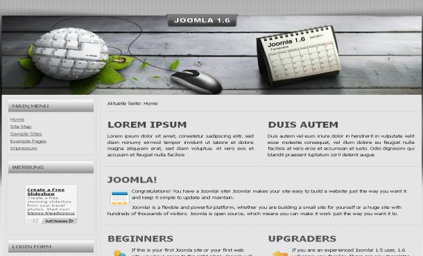 Free Silver Grunge High-Tech Joomla Template