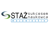 Logo konkursu Staż Sukcesem Naukowca