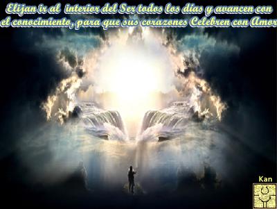 El Soporte Espiritual del Cielo, les suministrará la Confianza necesaria para que sus corazones Celebren con Amor.