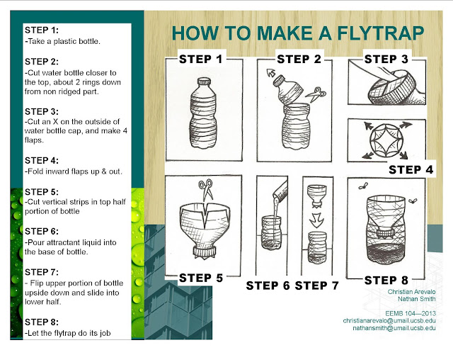 recyclicide plastics as pest control how to make a water bottle fly trap instructional guide. Black Bedroom Furniture Sets. Home Design Ideas